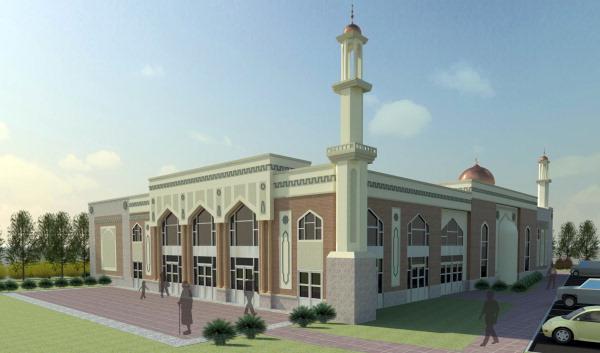 West Windsor Mosque Rendering