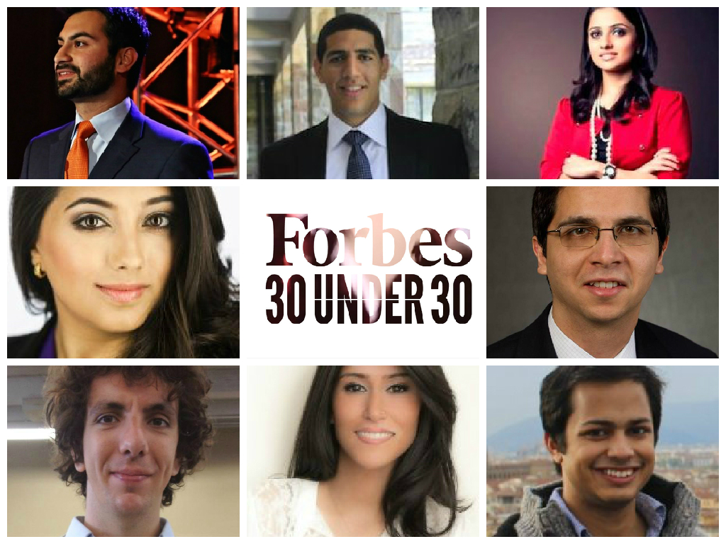 Muslims Forbes 30 under 30