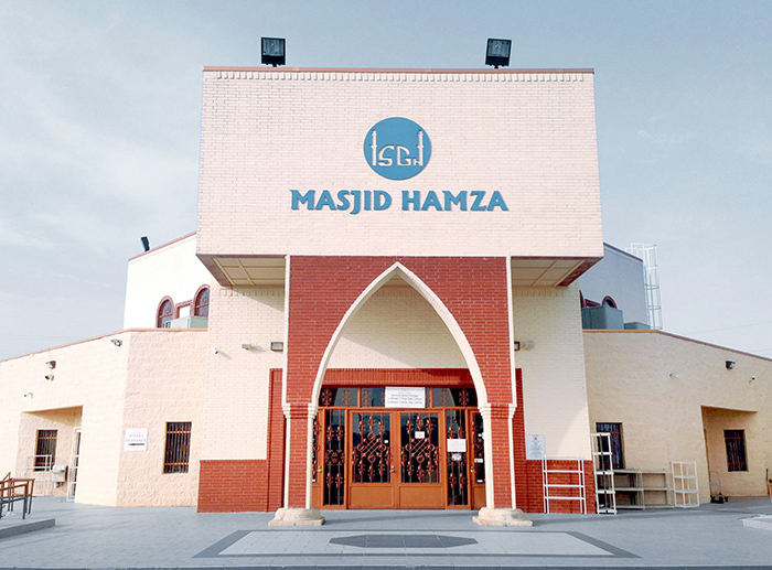 Photo credit:  Masjid Hamza Facebook page