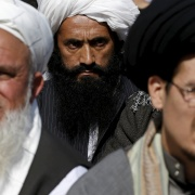 Afghan Islamic clerics gather at a protest to condemn the killing of Farkhunda, in Kabul, March 26. The lynching of the woman by a mob in the Afghan capital continued to fuel public anger on Thursday. Photo credit: Omar Sobhani/Reuters.