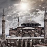 Hagia Sofia, Istanbul.  Photo credit:  Photodune.