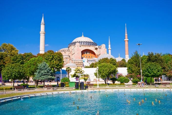 Hagia Sofia.  Photo credit:  Clipart.com