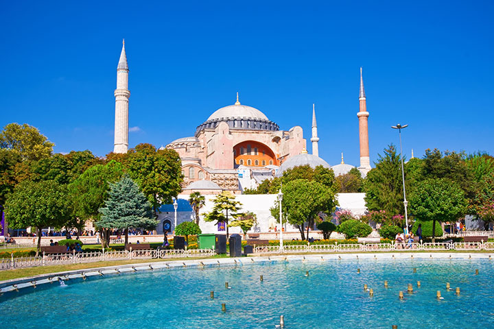 Hagia Sofia.  Photo credit:  Clipart.com