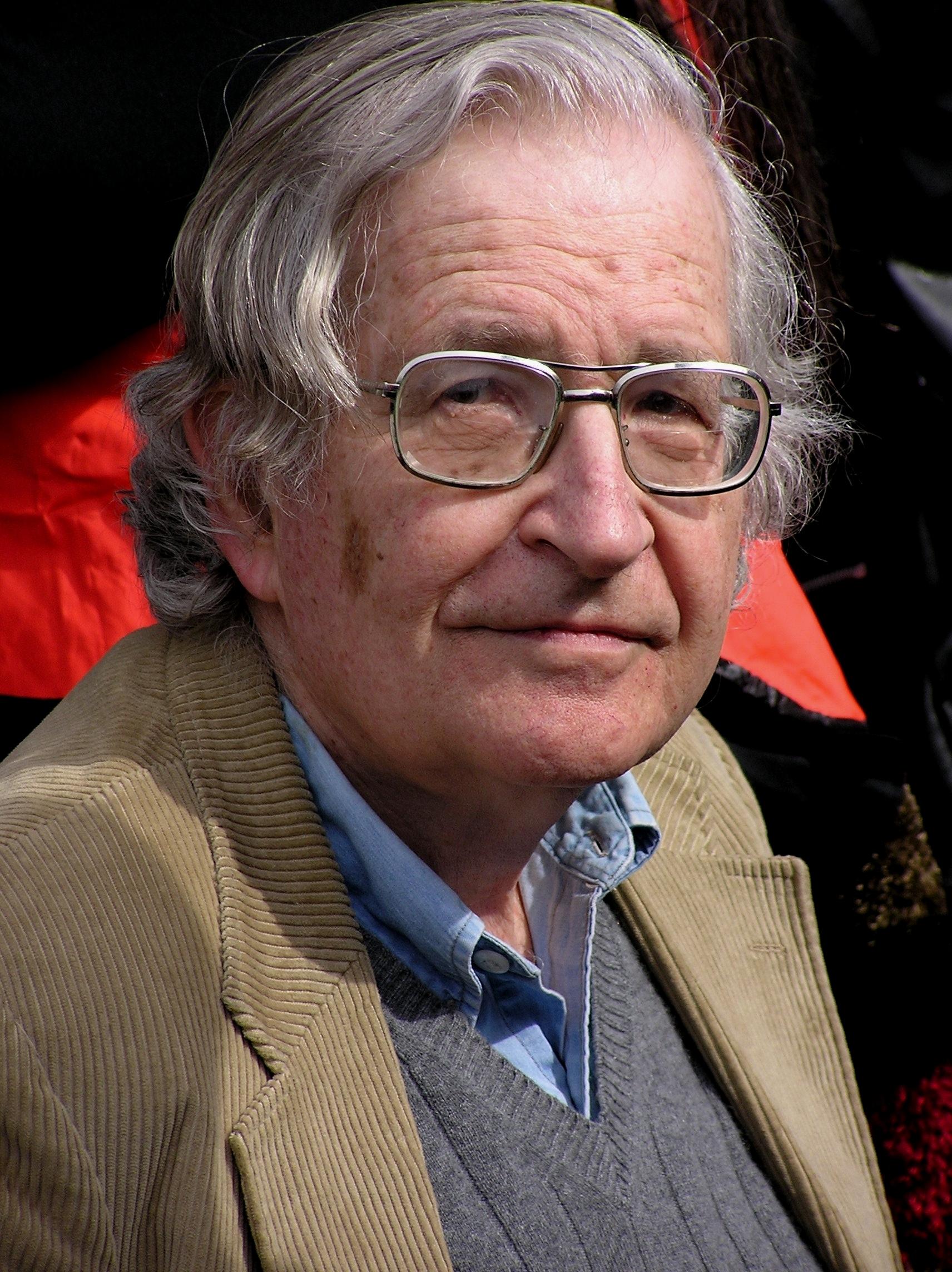 Noam Chomsky. Duncan Rawlinson / Flickr.