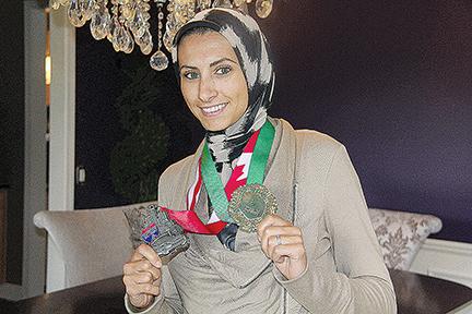 Rahaf Khatib.  Photo credit:  Laura Fawaz