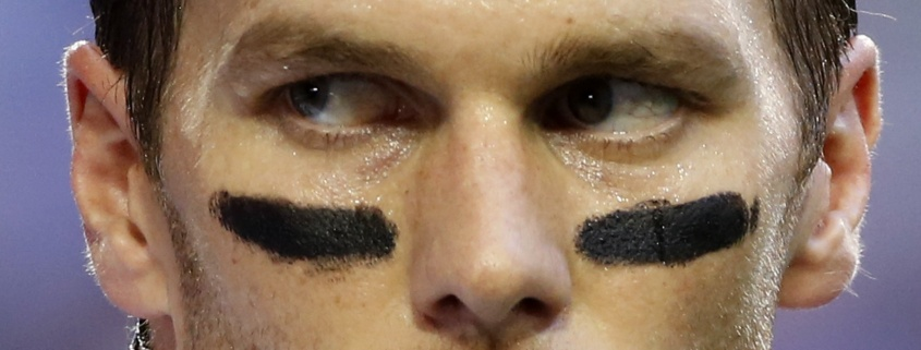 Disgraced New England Patriots quarterback Tom Brady. Lucy Nicholson / Reuters.