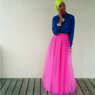 Nadira Abdul Quddus~ fashion blogger, YouTuber, DIY'er and health & wellness enthusiast. Photo credit: Strugglinghijabi