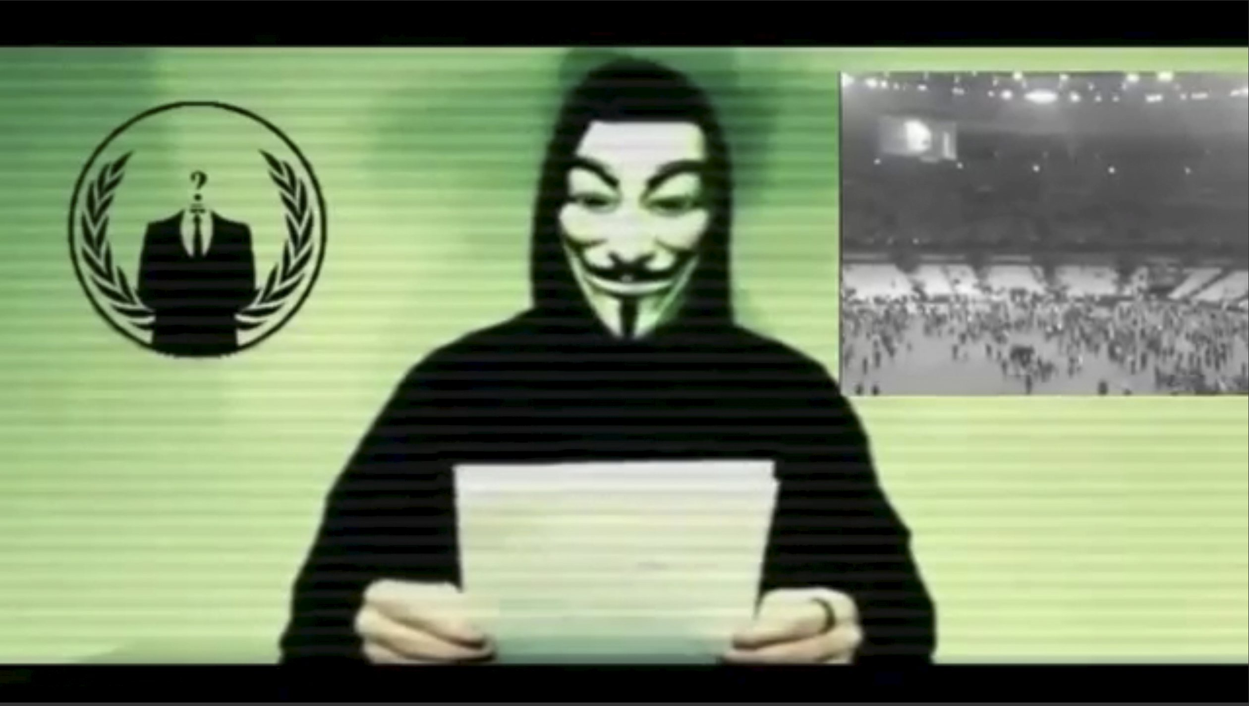 TheAnonymoushackers collective is preparing to unleash waves of cyberattacks on Islamic State following the attacks in Paris last week that killed 129 people, it declared in the video posted online. Social Media Website via Reuters
