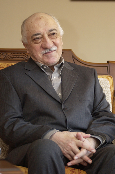 Since 1999, Turkish cleric Fethullah Gulen has lived in relative obscurity at a compound in rural Pennsylvania's Pocono Mountains, where this photo was taken on March 3, 2004. For use with RNS-GULEN-TURKEY, transmitted on January 16, 2014, Photo by Selahattin Sevi.