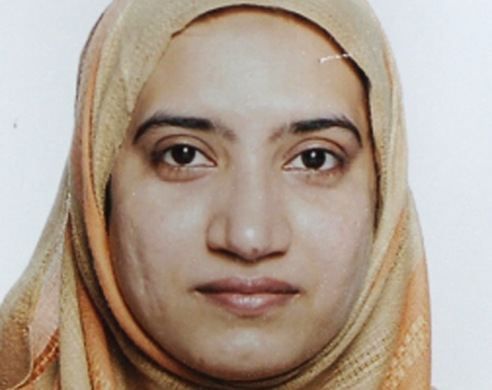 Tashfeen Malik is pictured in this undated handout photo provided by the FBI, December 4, 2015. FBI/Handout via Reuters