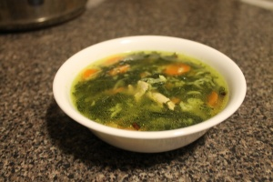 This soup has nutrients from every angle, and provides you with the perfect combination of protein, carbohydrates, healthy fats, and great taste!