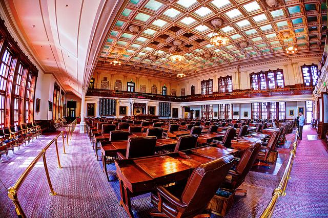 Texas House of Representatives / Photo courtesy https://www.flickr.com/photos/hz536n/