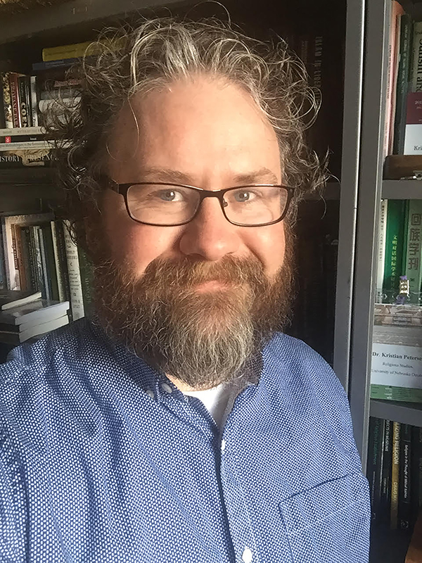 Kristian Petersen, Assistant Professor in the Department of Religious Studies at the University of Nebraska Omaha. His latest book project is The Cinematic Lives of Muslims. Photo courtesy of courtesy Kristian Petersen