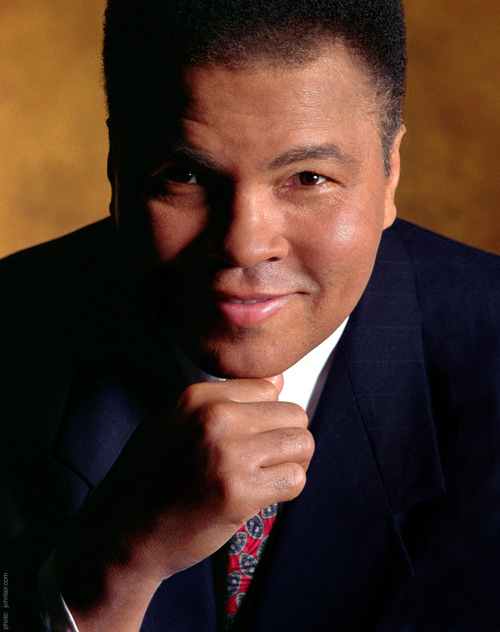 Muhammad Ali was a   2012 Liberty Medal Recipient  / https://www.flickr.com/photos/constitutioncenter/