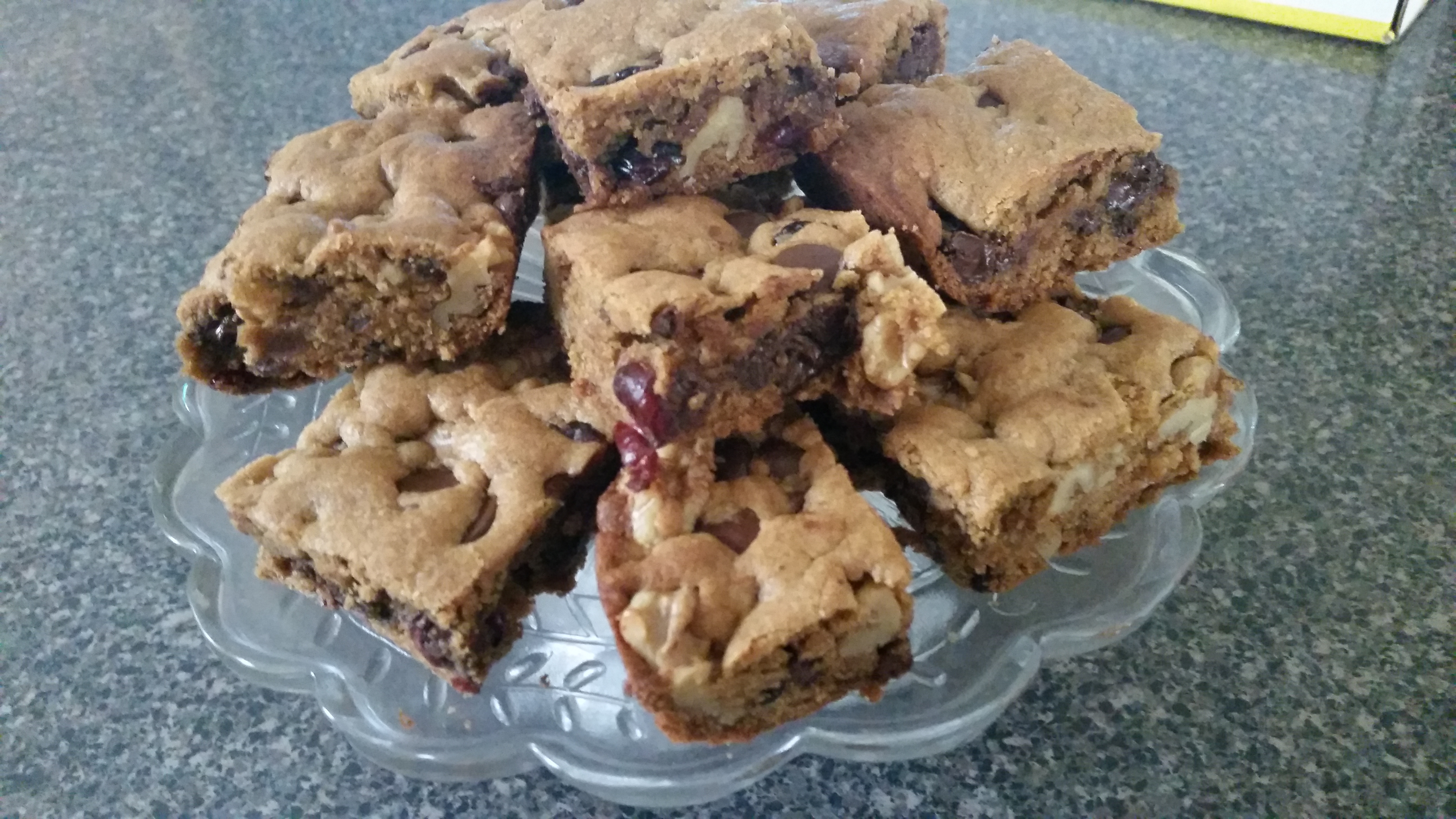 July 18_ Cranberry Walnut Cookie Bars