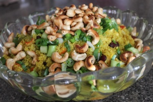 August 24_Ginger Nut Quinoa Pilaf